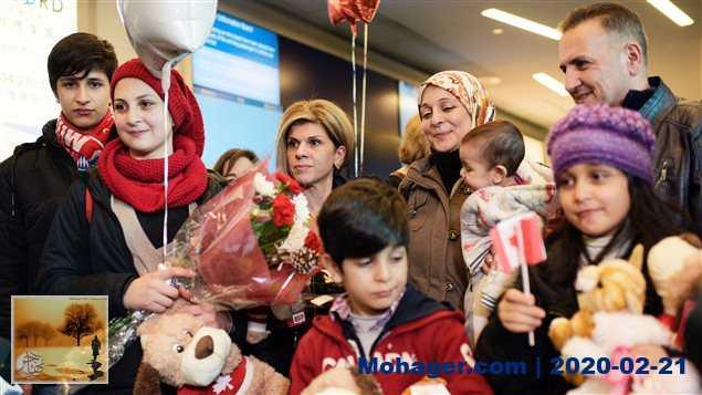 ارتفاع عدد اللاجئين في المقاطعات الأطلسية الكندية