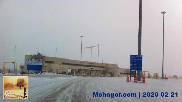 دخلا كندا بصورة غير شرعيّة ليواجها البرد القارس