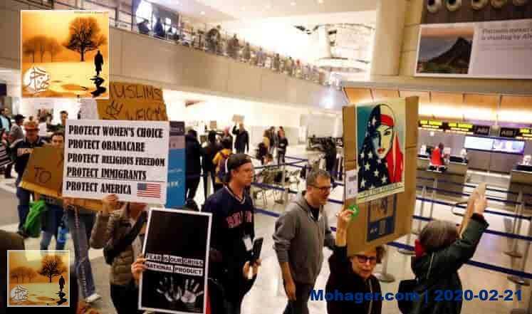 حكم قضائي ضد ترحيل مهاجرين موقوفين بموجب قرار ترمب