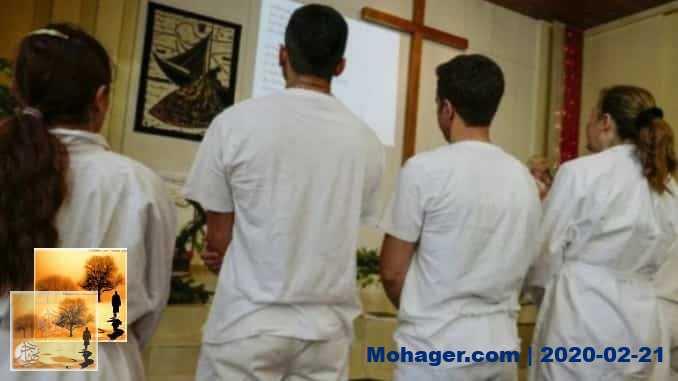 (اللاجئ) إبراهيم السوري أصبح عبد المسيح!