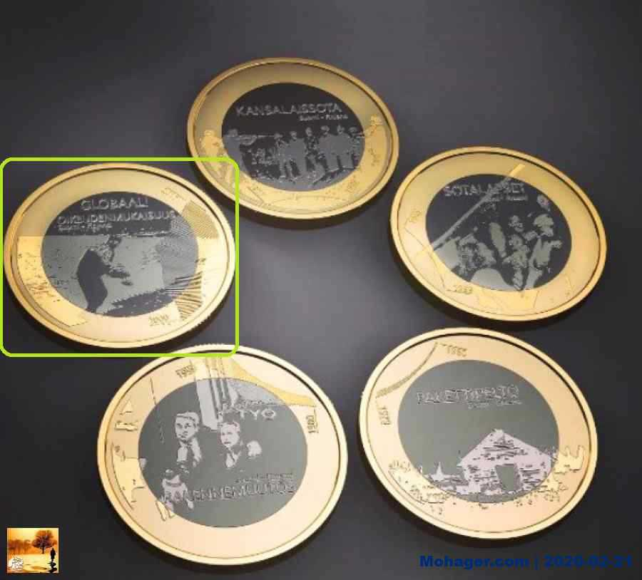 فنلندا: سك صورة الفتى السوري أيلان كردي على قطعة نقدية تخليدا لذكراه