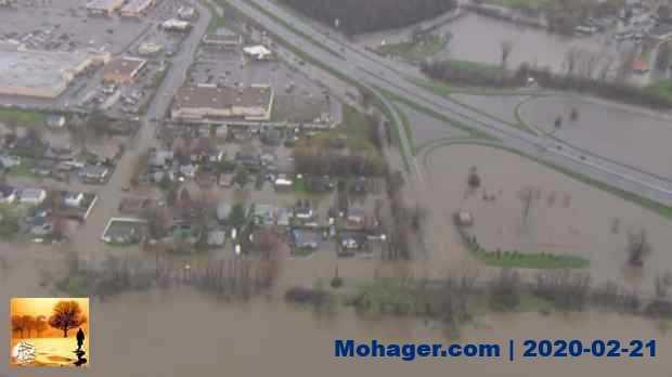 بالصور ..إعلان حالة الطوارئ في مونتريال بسبب الفيضانات