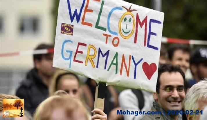 بعض المنظمات الإنسانية في ألمانيا