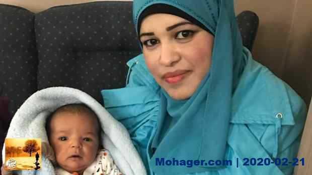 مولود باسم رئيس الحكومة الكندية في منزل أسرة لاجئة سورية