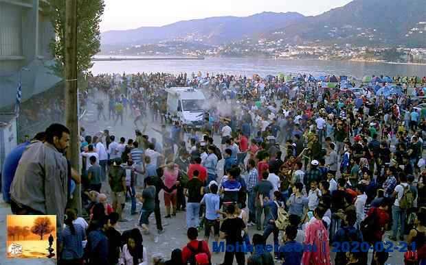 """اليونان سترحل أول دفعة من اللاجئين السوريين """"قسرًا"""""""