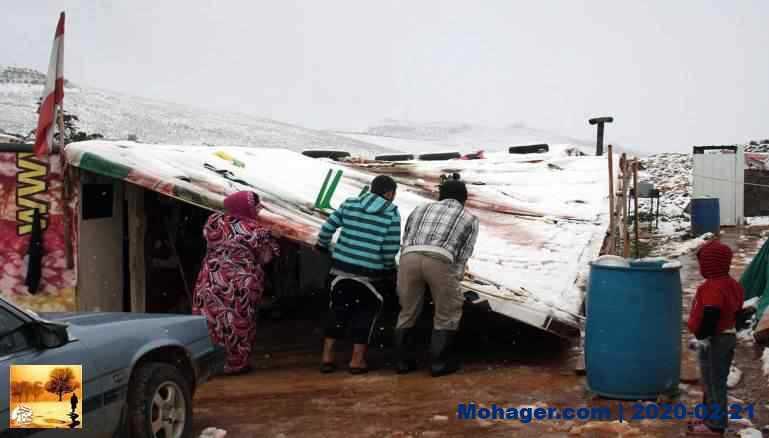 أغلب اللاجئين السوريين في لبنان يعيشون تحت خط الفقر
