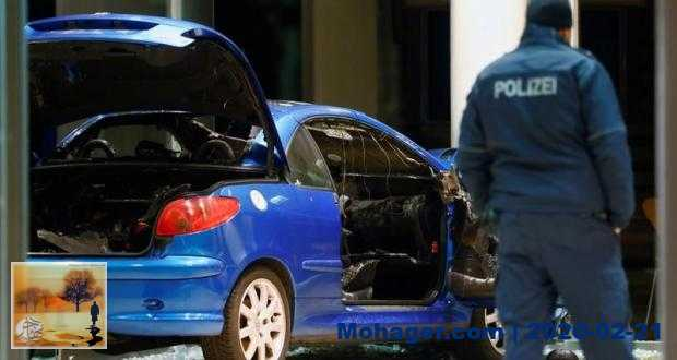رجل يحاول الانتحار باقتحام مقر الحزب الديمقراطي الاشتراكي بسيارته