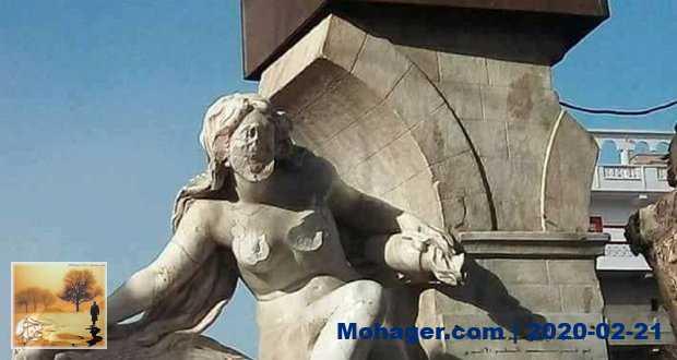 مُختل جزائري يشوّه تمثال لإمرأة عارية عمره 118 سنة