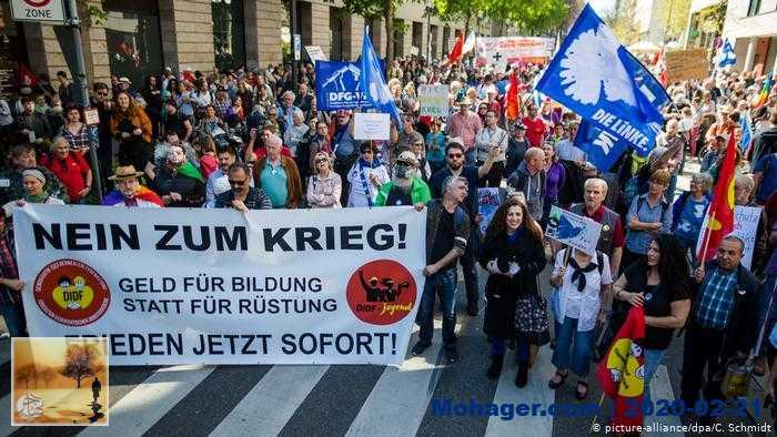 ألمانيا.. آلاف الأشخاص في مسيرات عيد الفصح من أجل السلام