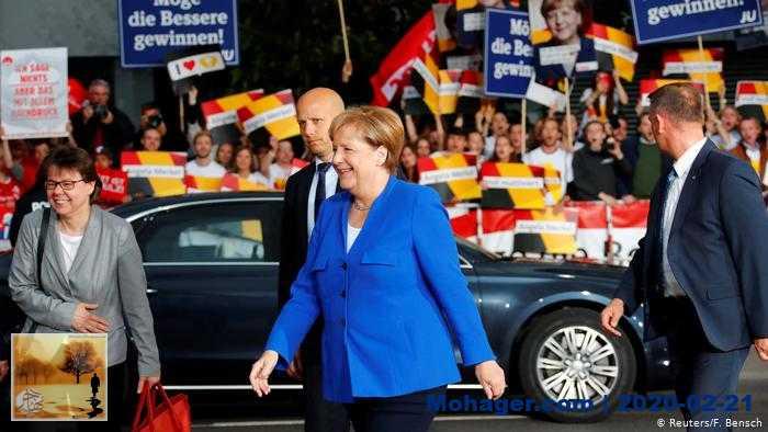 """استطلاع: حزب ميركل يتراجع و""""البديل"""" الأقوى بشرق ألمانيا"""
