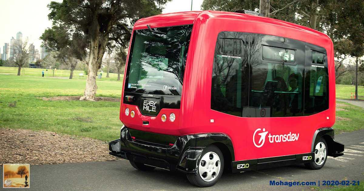 إتاحة أول حافلة ذاتية القيادة بكندا مجانًا للجمهور في مونتريال هذا الصيف
