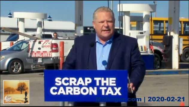 المحكمة العليا في أونتاريو تحكم بدستورية ضريبة الكربون – قانون تسعير الكربون