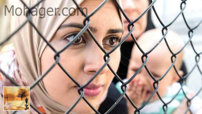 لاجئون سوريون في بريطانيا