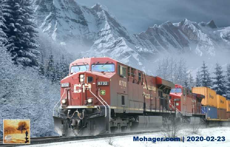 السكك الحديدية الكندية تسرح 450 عاملاً بعد إغلاق شبكة السكك بفعل محتجين | مهاجر