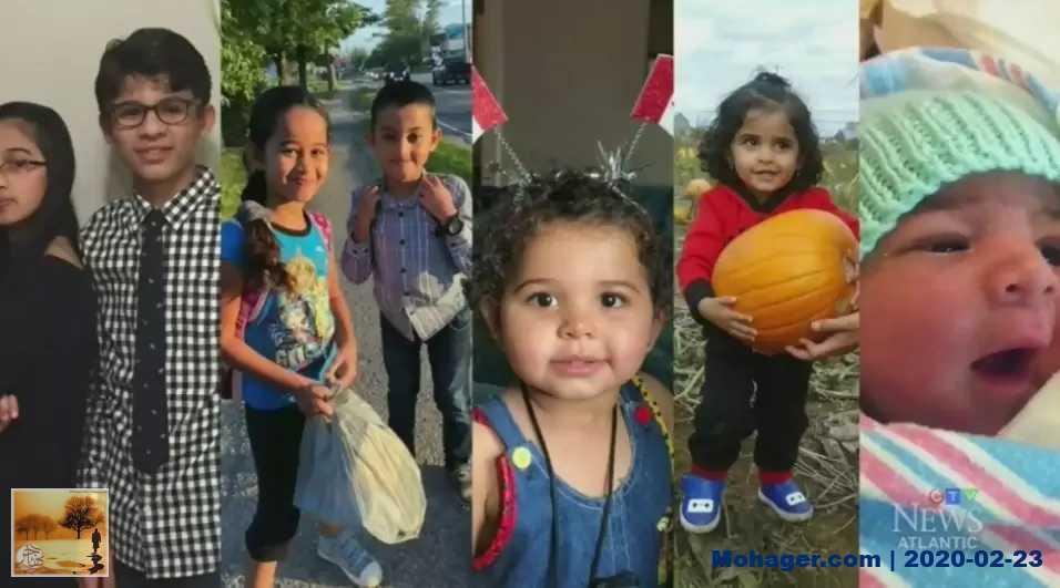 بعد وفاة الأبناء السبعة إثر حريق التهم منزلهم في كندا.. أسرة سورية تقدم الشكر لمن دعمهم | مهاجر