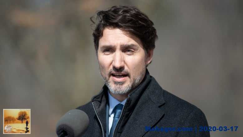 """تطورات فيروس كورونا: رئيس الوزراء الكندي يقول الدعم المالي في الطريق لمساعدة """"الملايين من الكنديين"""""""