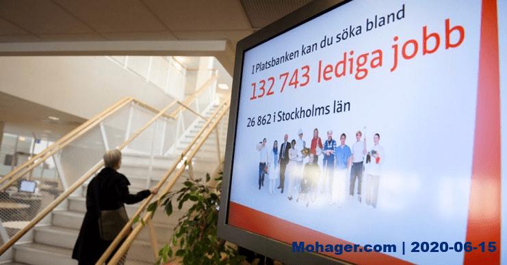 السويد تسجل 200 ألف عاطل عن العمل منذ بداية الأزمة