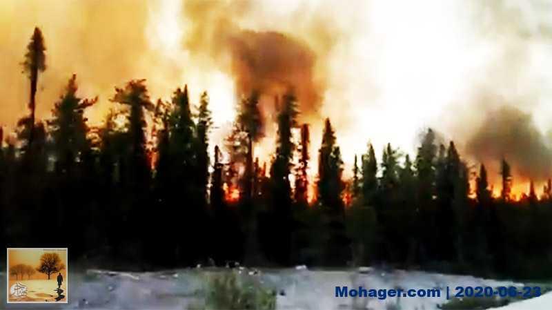حرائق الغابات تستمر في الانتشار في كيبيك وتدمر آلاف الهكتارات