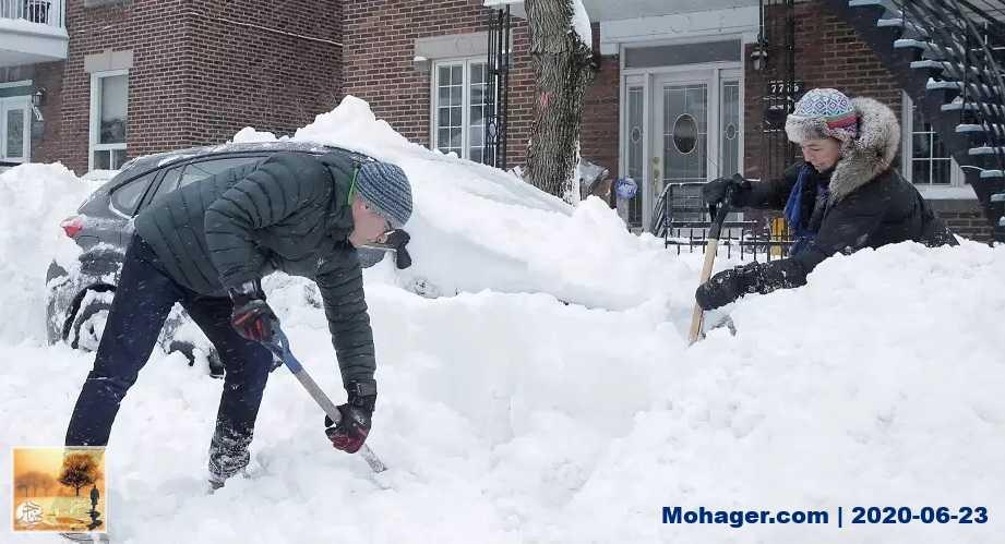 المناخ في مونتريال خلال فصول السنة الأربعة