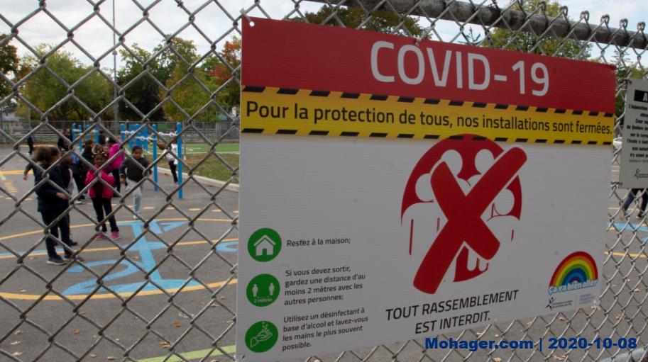 استطلاع: أسرة من كل 10 أسر كندية لديها طفل غاب عن المدرسة بسبب فيروس كورونا