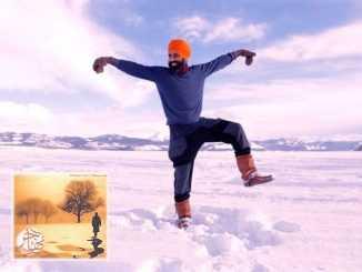 بالفيديو: رجل يرقص على بحيرة متجمدة في كندا احتفالاً بالحصول على اللقاح   مهاجر