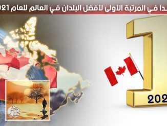 كندا في المرتبة الأولى لأفضل البلدان في العالم للعام 2021 | مهاجر
